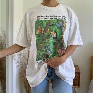 Vintage Stop Rainforest Destruction T-Shirt